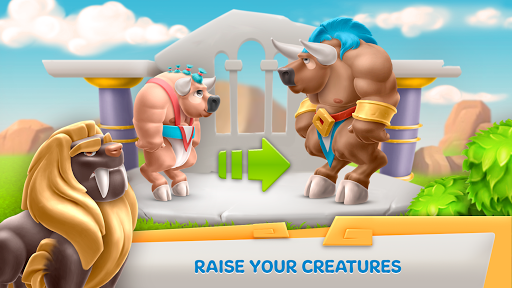 Legends Of Olympus: Farm & City Building Games - screenshot