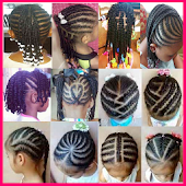 Kids hairstyle braid