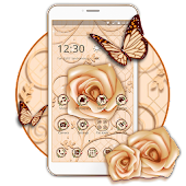 Luxury White Rose Theme