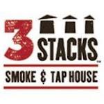 Logo for 3 Stacks Smoke & Tap House