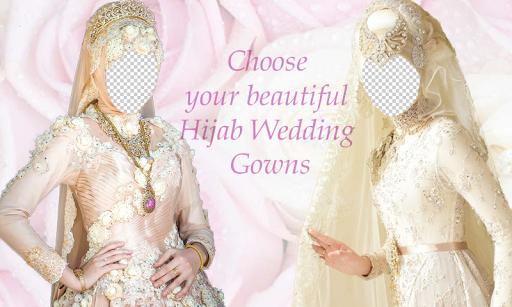 Hijab Bridal Photo Montage