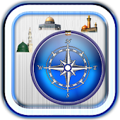 Islamic places locator compass