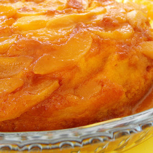 Pear Cake with Caramel