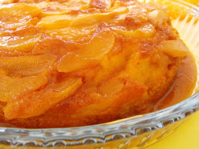 Pear Cake with Caramel Recipe