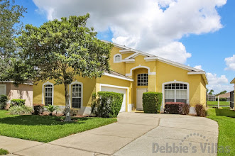 Orlando villa close to Disney, private pool with lake view, games room