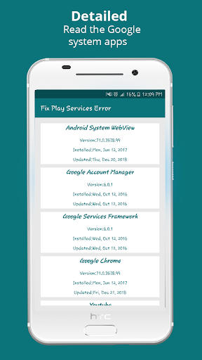 Info of Play Store & fix Play Services 2020 Update 1.1.3 Apk for Android 3