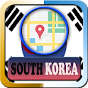 South Korea Maps and Direction icon