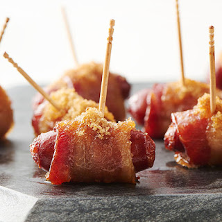 Bacon-Wrapped Little Smokies.