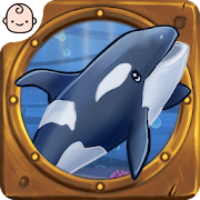 Морской мир. Звуки морских животных. Детская игра