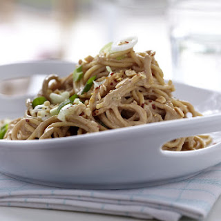 Spaghetti with Peanut and Sesame Dressing