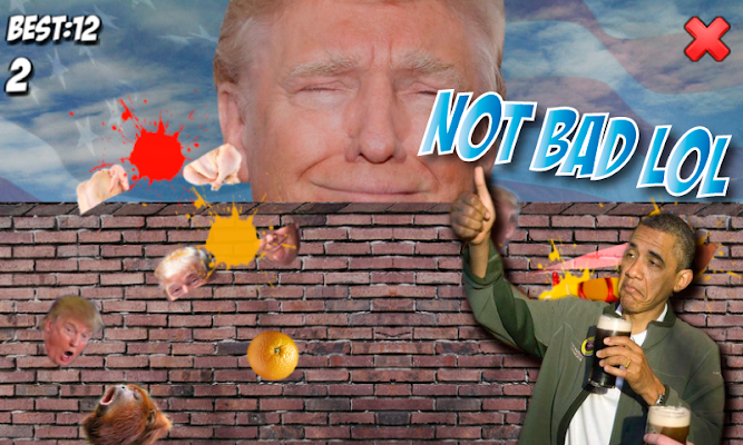 Donald Trump Ninja - screenshot
