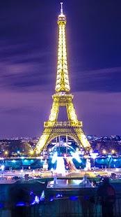 Paris Zipper Lock Screen screenshot