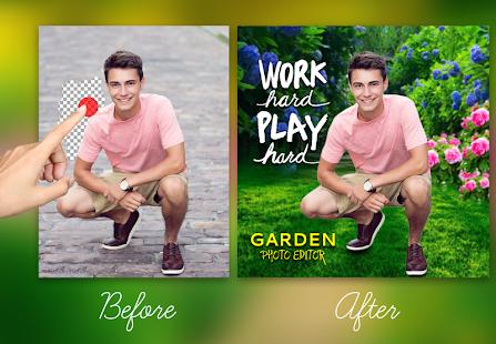 Garden Photo Editor - náhled