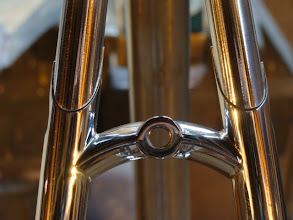 Photo: Gotta love those sleeved stays and this stainless bridge, a pain to build, but beautiful to behold.