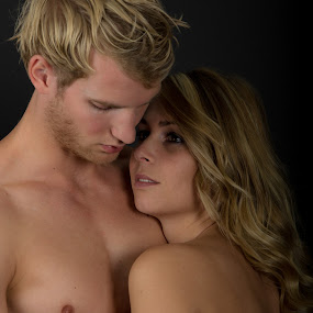 Devotion by Ton Hoelaars - People Couples ( love, muscles, couple )