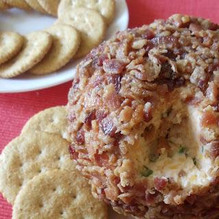 Bacon Cheddar Cheese Ball.