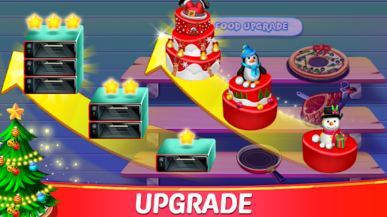 Christmas Cooking: Crazy Restaurant Mod Apk (Unlimited Money) 7