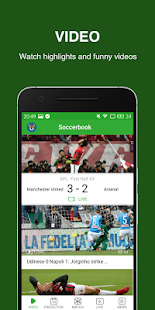 Soccerbook- Live Score, Soccer News, Videos - náhled