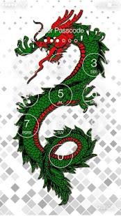 Dragon Awsome Screen Lock - náhled