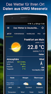The Weather in Germany: Radar, weather warnings APK image thumbnail 0