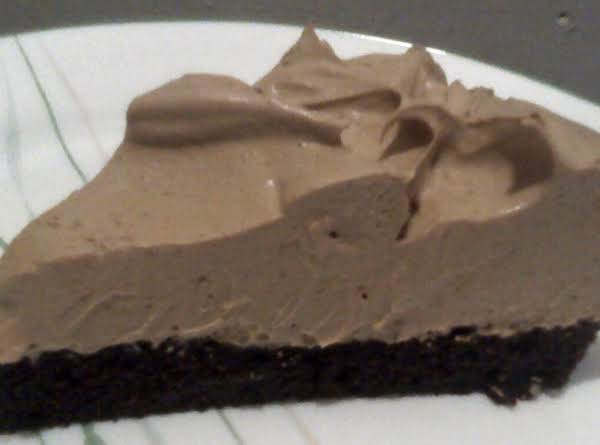 Brownie Cappuccino Mousse Pie Recipe