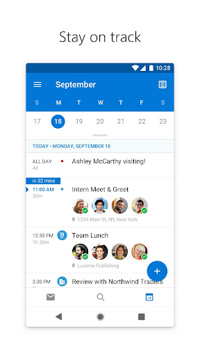 Microsoft Outlook: Organize Your Email & Calendar 4.1.86 screenshots 5