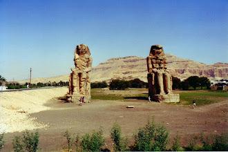 Photo: #024-Les colosses de Memnon