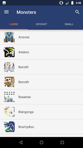 MHGU Database Screenshot