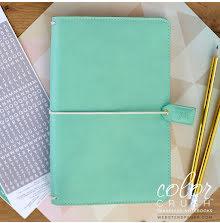 Websters Pages Travelers Notebook Planner - Mint UTGÅENDE