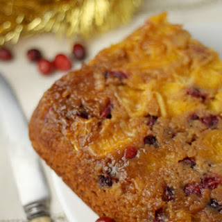 Clementine And Cranberry Upside-down Cake