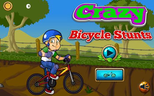 Crazy Bicycle Stunts Game apkmind screenshots 1