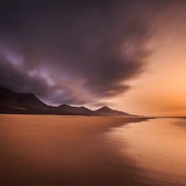 Cofete by Ryszard Lomnicki - Landscapes Cloud Formations ( sunrise, sunset, long exposure,  )