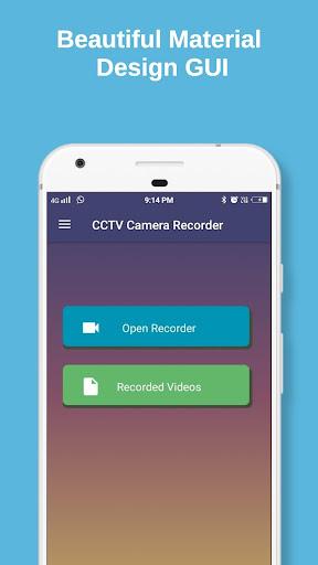 CCTV Camera Recorder : Video Recorder Background 2.5.8 screenshots 1