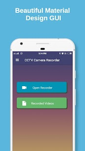 CCTV Camera Recorder : Video Recorder Background App Download For Android 1