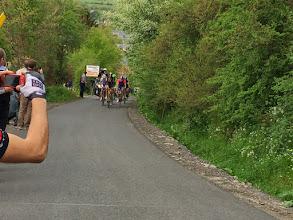 Photo: De første ryttere på Stockeu