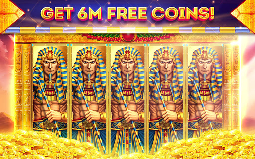 Pharaohs of Egypt Slots u2122 Free Casino Slot Machine 1.45.4 screenshots {n} 6