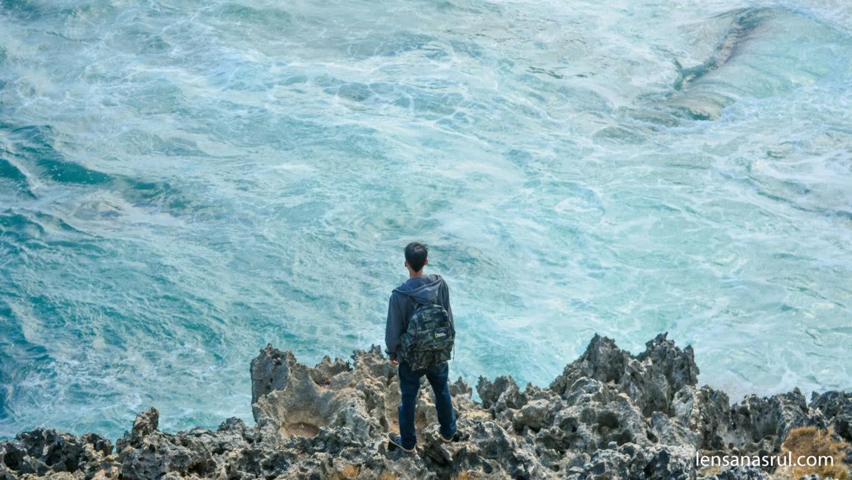 tebing pantai ngeden gunungkidul