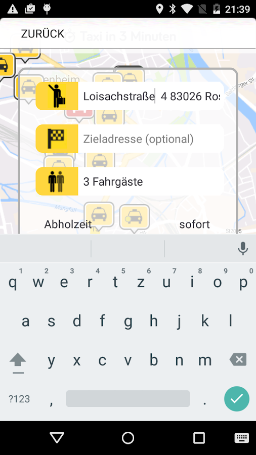 Taxi Edelweiss- screenshot