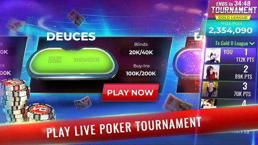 Poker Legends - Free Texas Holdem Poker Tournament  screenshots 1