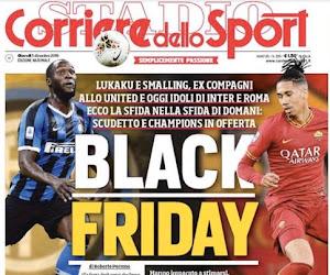"""📷 Corriere dello Sport reageert op ophefmakende titel """"Black Friday"""": """"We wilden net de diversiteit positief maken"""""""