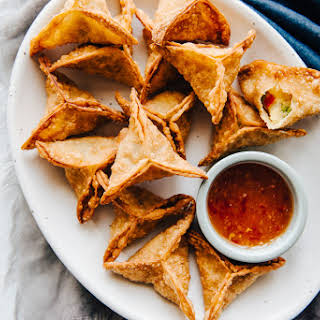 Curried Potato Fried Dumplings.