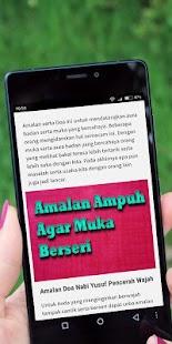 Amalan Ampuh Agar Muka Berseri - náhled