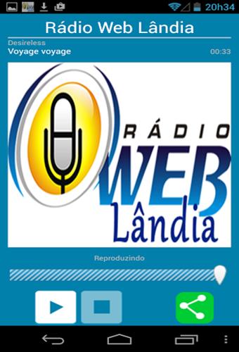Rádio Web Lândia