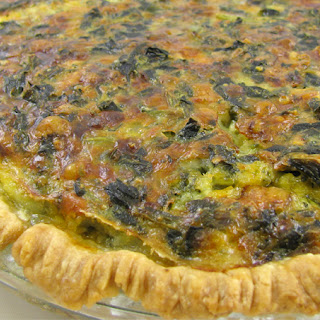 Spinach Pie With Pie Crust Recipes.