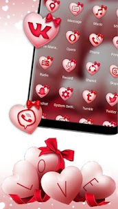 Valentine Love Launcher Theme 1.0.1 Mod + APK + Data UPDATED 2