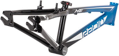 Radio Helium  BMX  Race Frame - Black / Cyan alternate image 6