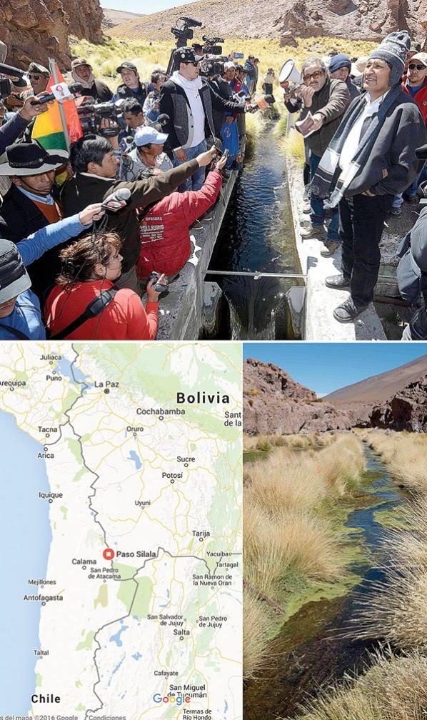 Silala: Cada segundo salen a Chile unos 180 litros de agua