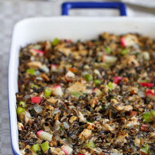 Wild Rice, Apple And Herb Stuffing