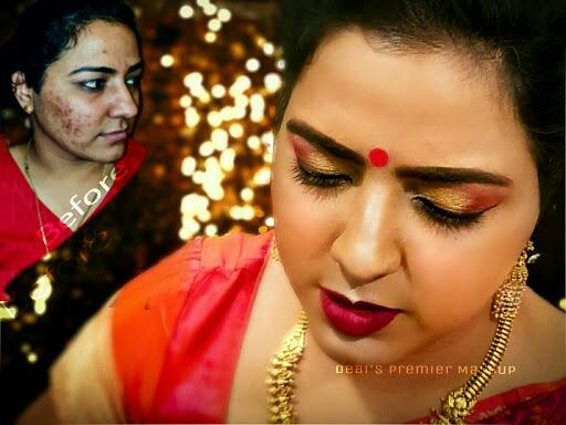 Debi's Premier Makeup - Best Bridal, Party Airbrush HD Top Makeup Artist in Kolkata