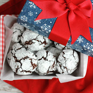 Chocolate Crinkle Cookie.
